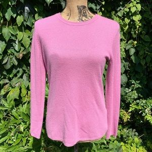 LORD & TAYLOR Cashmere Sweater, M